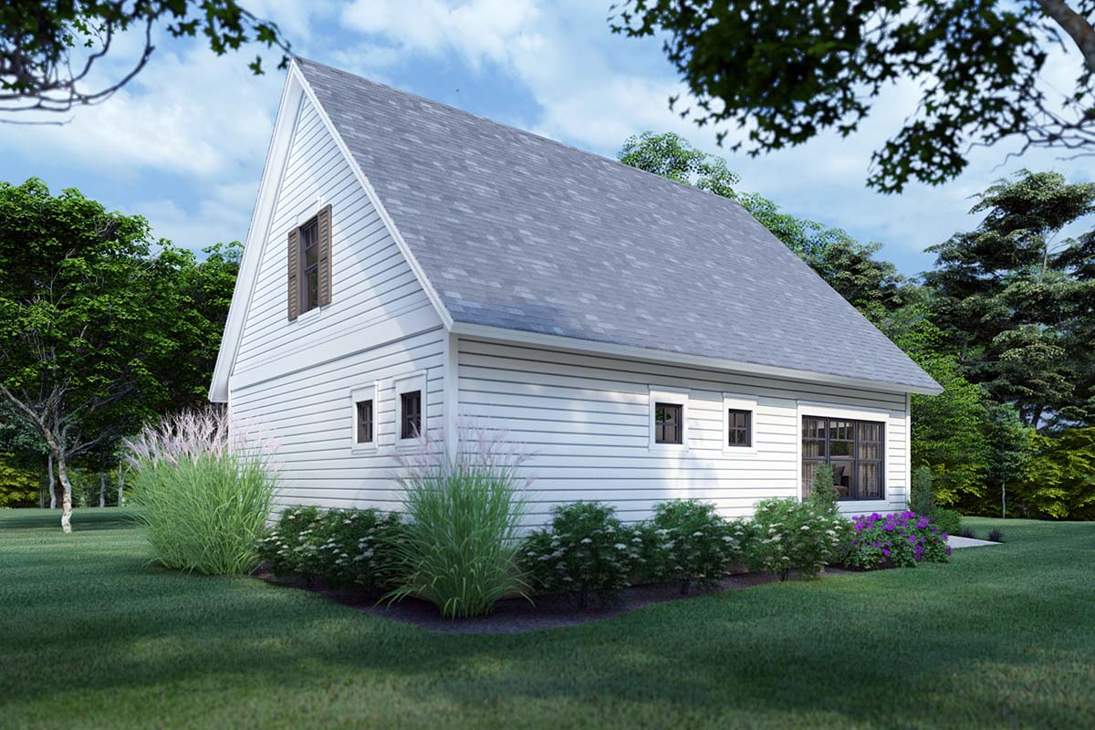 Cottage, Farmhouse House Plan 75170 with 3 Beds, 2 Baths Picture 1