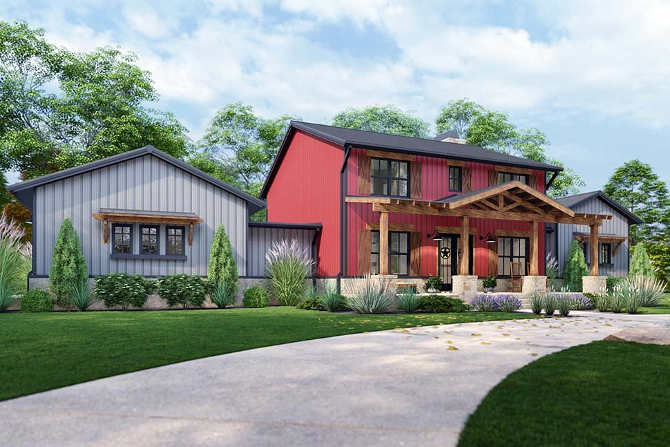 Country, Farmhouse House Plan 75172 with 3 Beds, 3 Baths, 3 Car Garage Picture 10