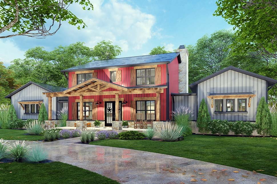 Country, Farmhouse House Plan 75172 with 3 Beds, 3 Baths, 3 Car Garage Picture 11