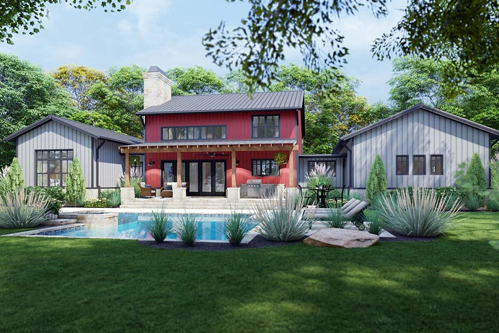 Country, Farmhouse House Plan 75172 with 3 Beds, 3 Baths, 3 Car Garage Picture 7