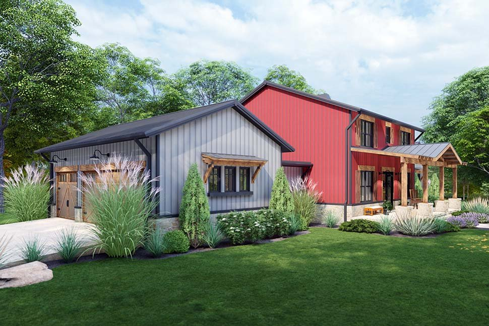 Country, Farmhouse House Plan 75172 with 3 Beds, 3 Baths, 3 Car Garage Picture 9
