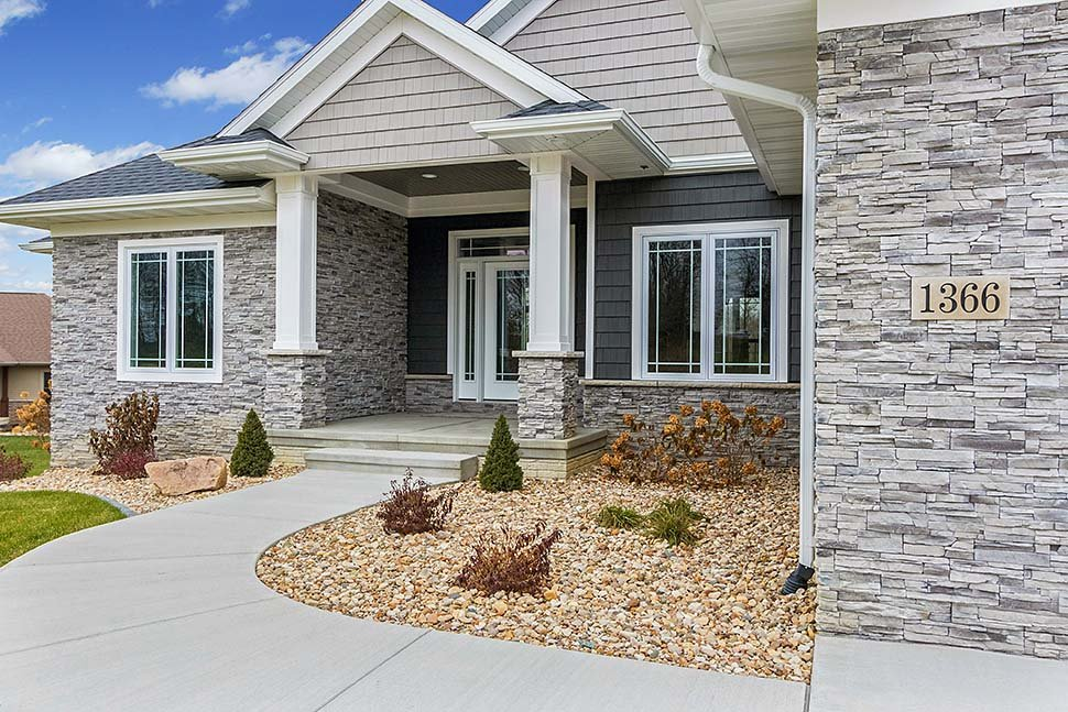 Craftsman, Ranch House Plan 75472 with 5 Beds, 3 Baths, 3 Car Garage Picture 4