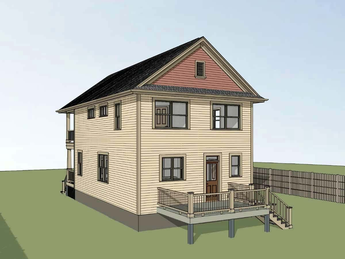 Colonial, Country, Southern House Plan 75570 with 3 Beds, 3 Baths Picture 1