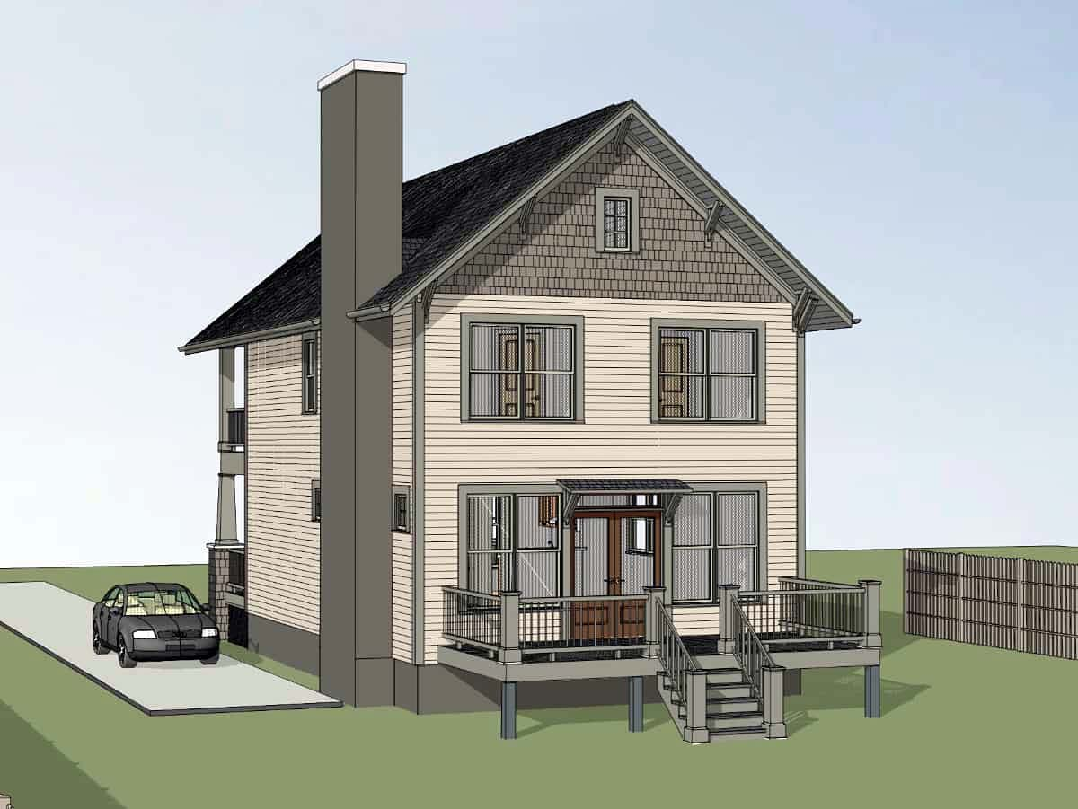 Country, Craftsman, Southern House Plan 75577 with 3 Beds, 3 Baths Picture 1