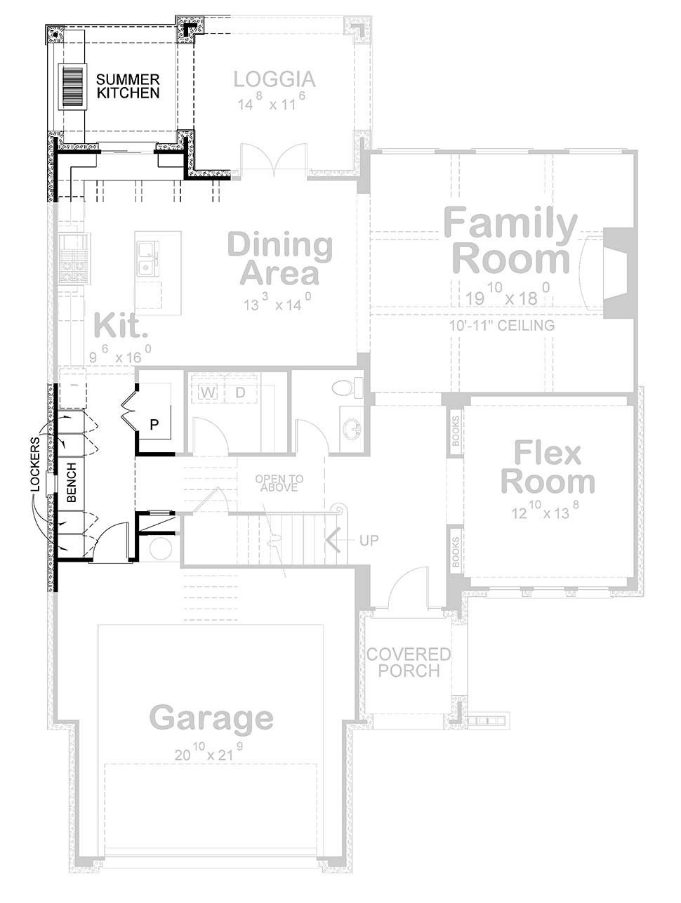 European House Plan 75744 with 4 Beds, 4 Baths, 2 Car Garage Picture 3