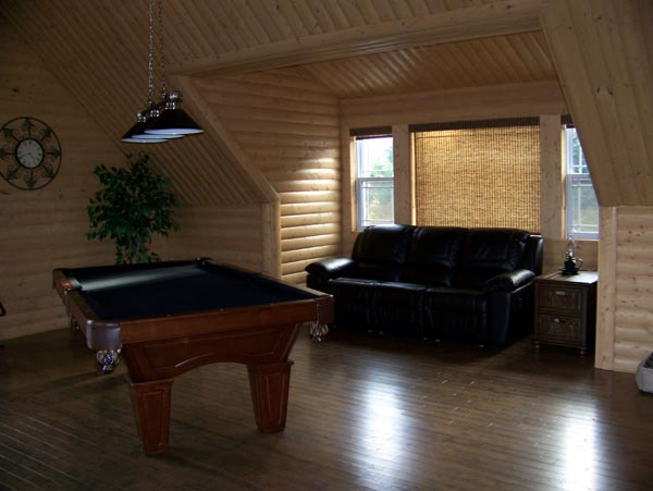 Cabin, Narrow Lot House Plan 76011 with 2 Beds, 2 Baths Picture 6