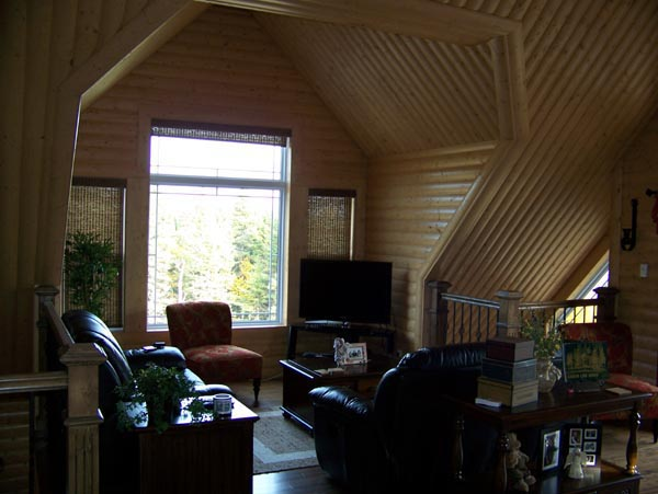 Cabin, Narrow Lot House Plan 76011 with 2 Beds, 2 Baths Picture 7