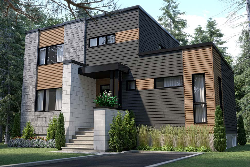 House Plan 76565 with 4 Beds, 3 Baths Picture 4