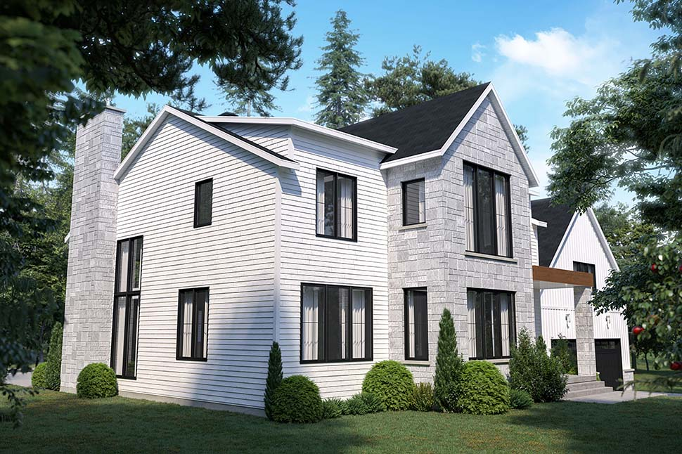 Craftsman, Farmhouse House Plan 76573 with 4 Beds, 3 Baths, 2 Car Garage Picture 6