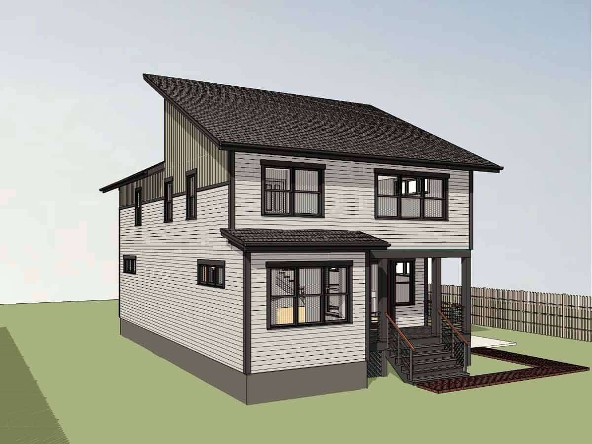 Contemporary, Modern House Plan 76620 with 3 Beds, 3 Baths Picture 1