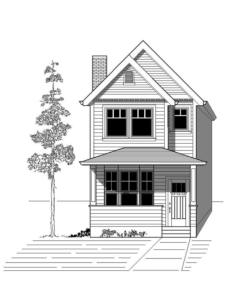 House Plan 76801 with 3 Beds, 3 Baths Elevation