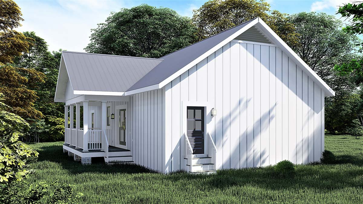 Cottage, Country House Plan 77415 with 3 Beds, 2 Baths Picture 2