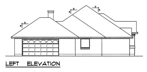 Traditional House Plan 77756 with 3 Beds, 2 Baths, 2 Car Garage Picture 1