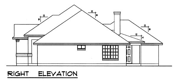 Traditional House Plan 77756 with 3 Beds, 2 Baths, 2 Car Garage Picture 2
