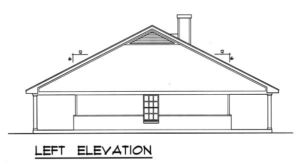 Country House Plan 77759 with 3 Beds, 2 Baths Picture 1