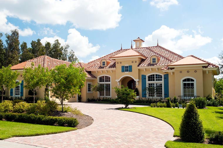Mediterranean House Plan 78104 with 3 Beds, 4 Baths, 2 Car Garage Picture 10