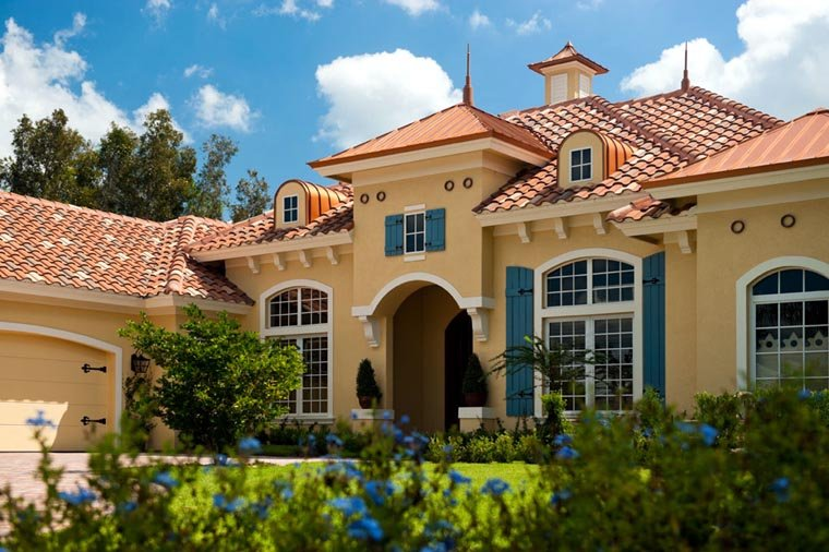 Mediterranean House Plan 78104 with 3 Beds, 4 Baths, 2 Car Garage Picture 12