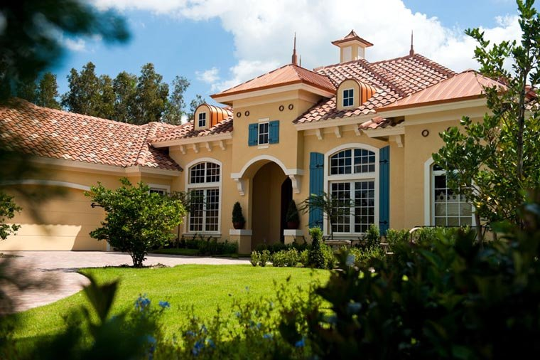 Mediterranean House Plan 78104 with 3 Beds, 4 Baths, 2 Car Garage Picture 5