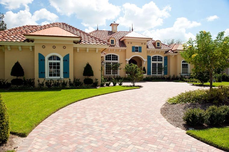 Mediterranean House Plan 78104 with 3 Beds, 4 Baths, 2 Car Garage Picture 8
