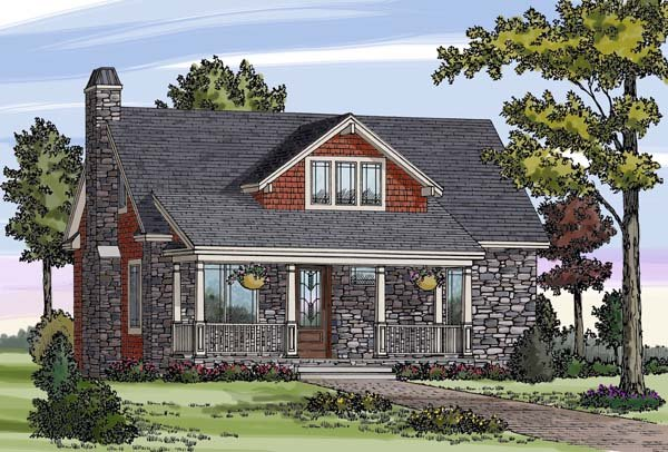 Cottage, Country, Craftsman, Farmhouse House Plan 79503 with 3 Beds, 3 Baths Elevation