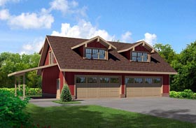 Plan Number 80252 - 1150 Square Feet