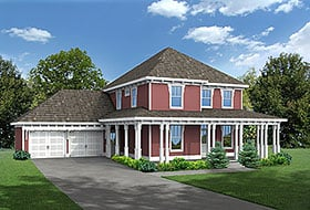 Plan Number 80262 - 2496 Square Feet