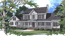 Plan Number 80266 - 2758 Square Feet