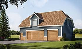 Plan Number 80426 - 540 Square Feet