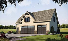 Plan Number 80427 - 540 Square Feet