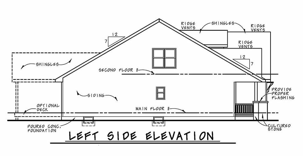 Country, Craftsman House Plan 80432 with 4 Beds, 4 Baths, 3 Car Garage Picture 2