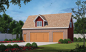 Plan Number 80438 - 634 Square Feet