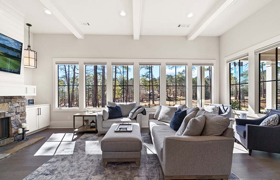 Craftsman, Ranch, Traditional House Plan 80741 with 4 Beds, 5 Baths, 2 Car Garage Picture 3