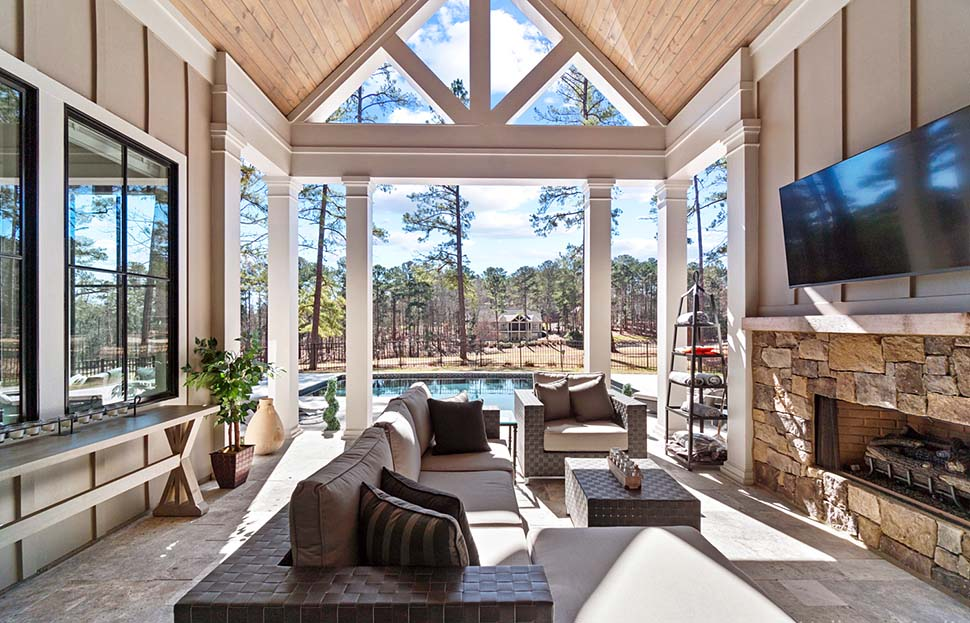 Craftsman, Ranch, Traditional House Plan 80741 with 4 Beds, 5 Baths, 2 Car Garage Picture 6