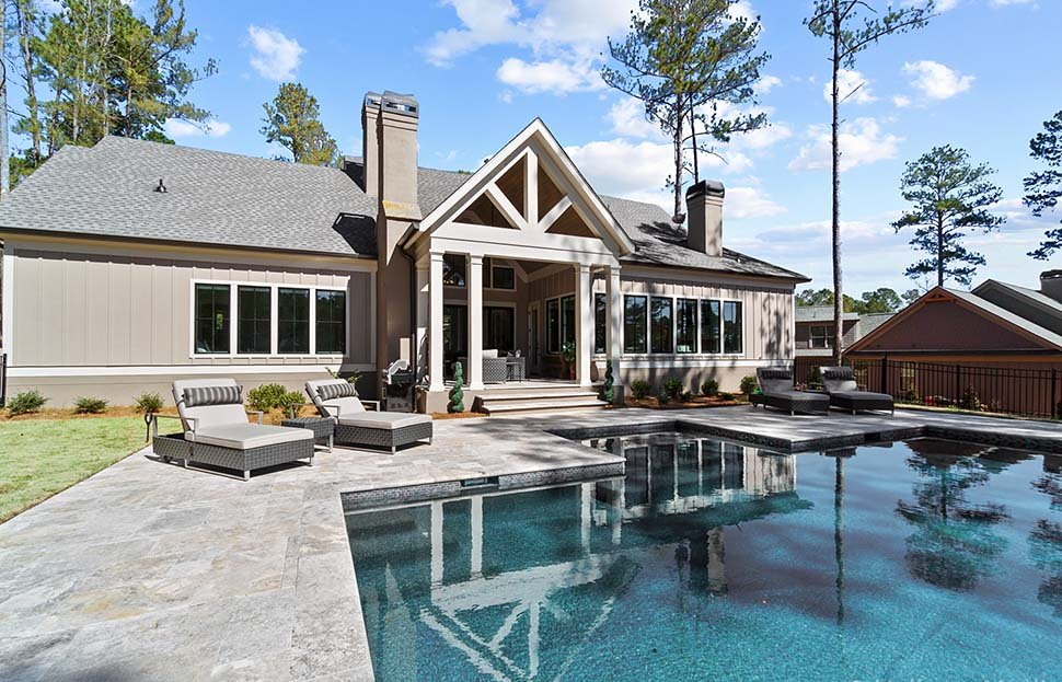 Craftsman, Ranch, Traditional House Plan 80741 with 4 Beds, 5 Baths, 2 Car Garage Picture 9