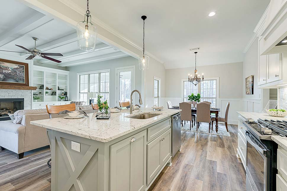 Country, Farmhouse, Traditional House Plan 80800 with 4 Beds, 2 Baths, 2 Car Garage Picture 11
