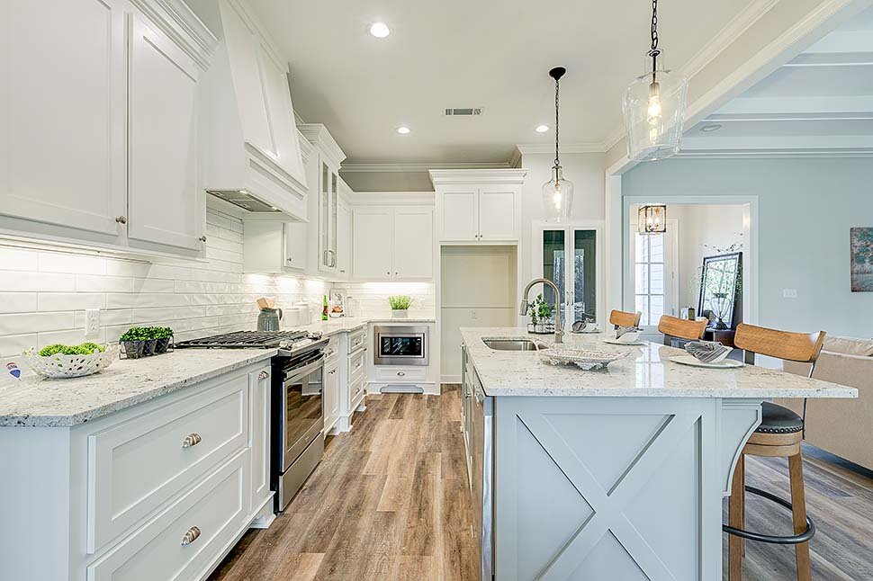 Country, Farmhouse, Traditional House Plan 80800 with 4 Beds, 2 Baths, 2 Car Garage Picture 13