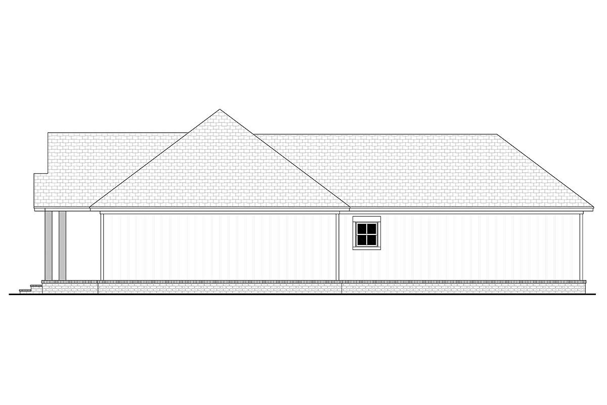 Cottage, Country, Farmhouse House Plan 80811 with 2 Beds, 2 Baths, 2 Car Garage Picture 1