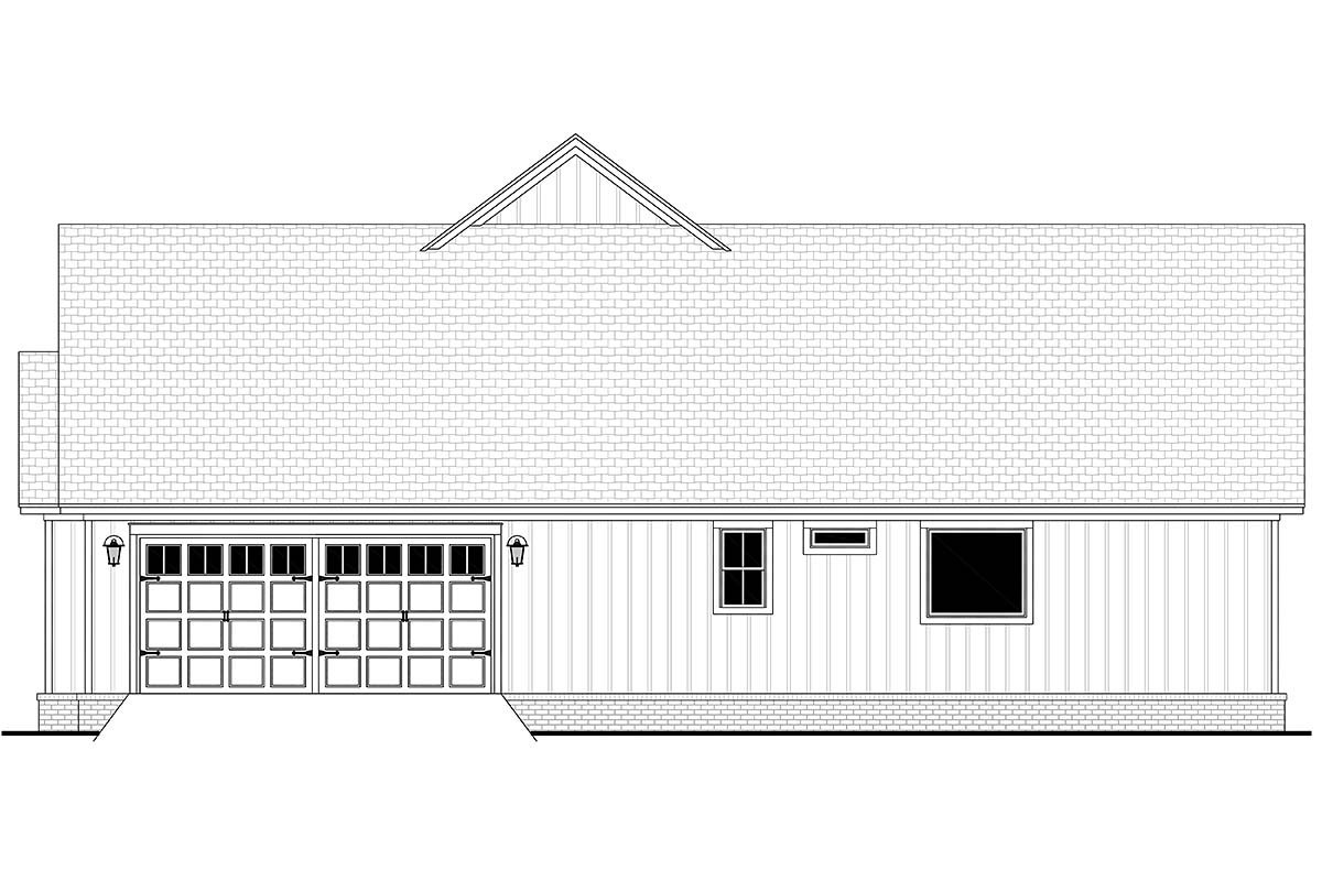 Country, Farmhouse, Traditional House Plan 80816 with 3 Beds, 3 Baths, 2 Car Garage Picture 1