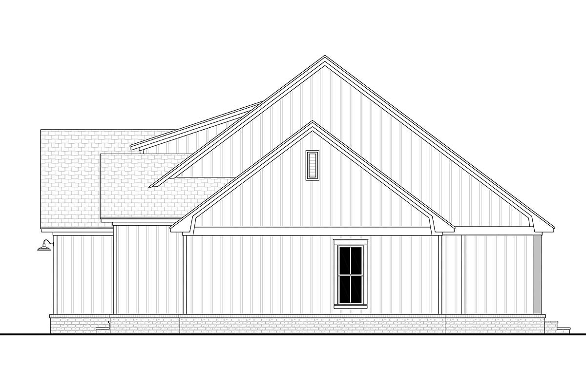 Country, Craftsman, Farmhouse, Traditional House Plan 80817 with 3 Beds, 3 Baths, 2 Car Garage Picture 1