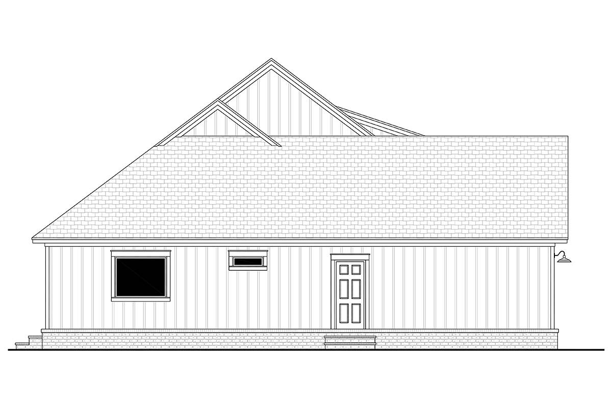 Country, Craftsman, Farmhouse, Traditional House Plan 80817 with 3 Beds, 3 Baths, 2 Car Garage Picture 2