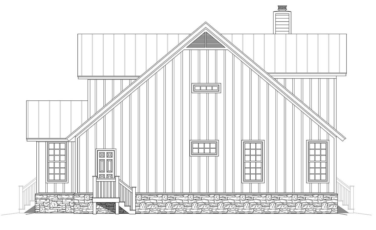 Country, Farmhouse, Traditional House Plan 80923 with 3 Beds, 3 Baths Picture 1