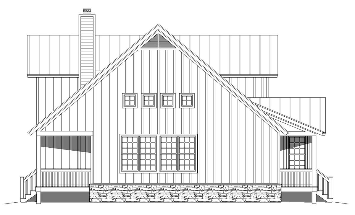 Country, Farmhouse, Traditional House Plan 80923 with 3 Beds, 3 Baths Picture 2