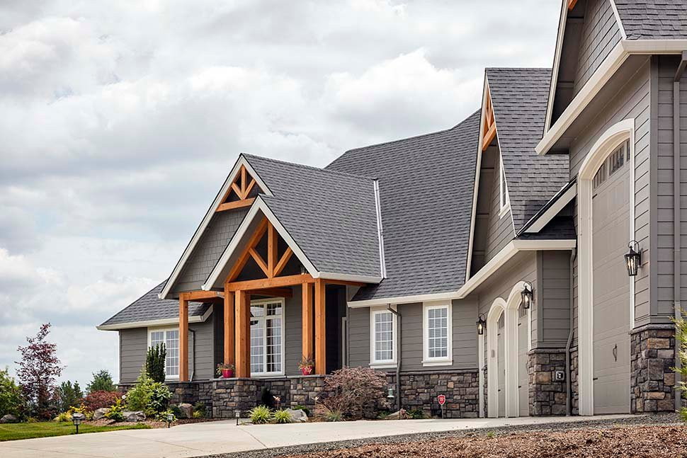 Country, Craftsman House Plan 81204 with 3 Beds, 3 Baths, 2 Car Garage Picture 4