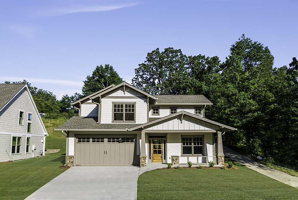 Bungalow, Craftsman House Plan 81211 with 3 Beds, 3 Baths, 2 Car Garage Picture 3