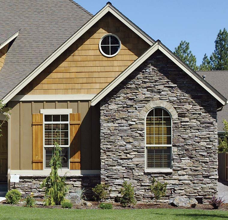 Bungalow, Craftsman House Plan 81227 with 3 Beds, 2 Baths, 3 Car Garage Picture 5