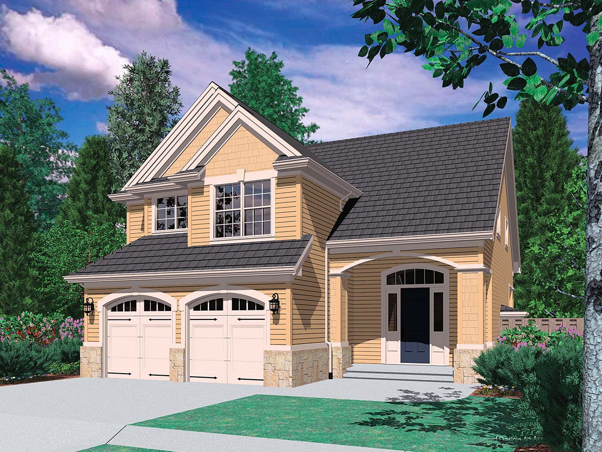 Craftsman, Traditional House Plan 81233 with 3 Beds, 3 Baths, 2 Car Garage Picture 1