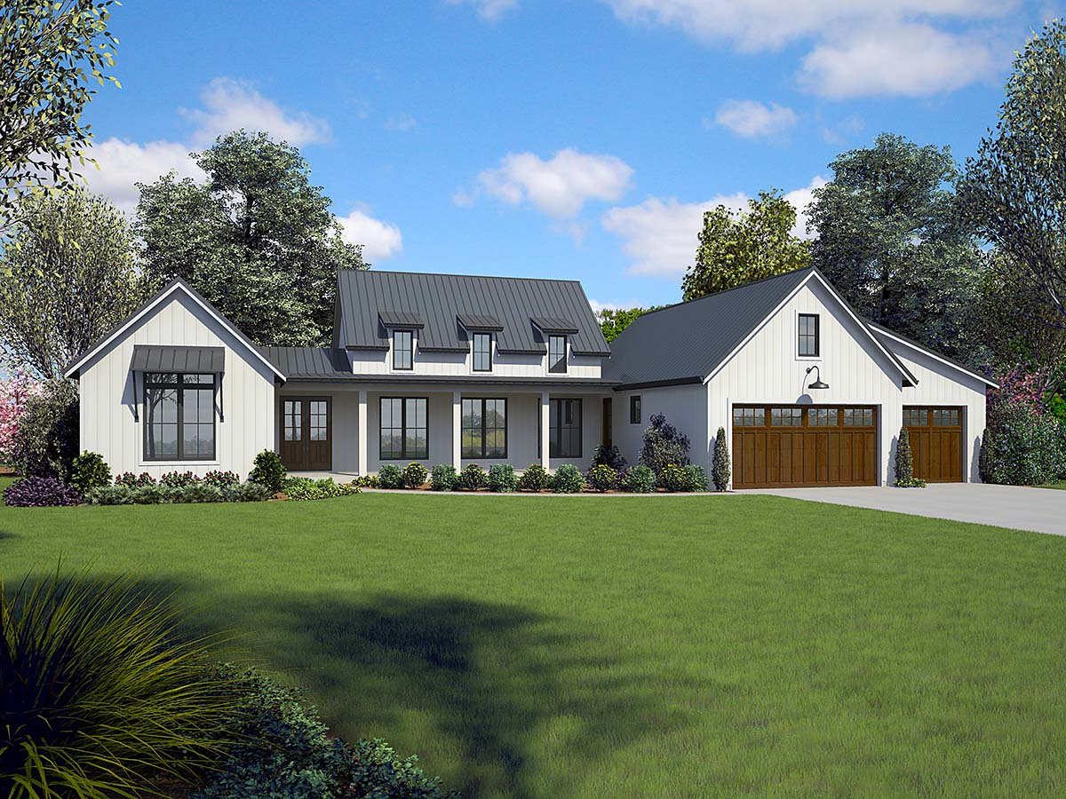 House Plan 81253 Ranch Style With 2798 Sq Ft 3 Bed 2 Bath 1 Half Bath