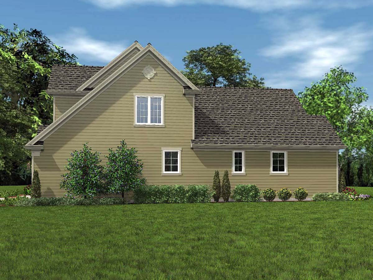 Traditional House Plan 81254 with 3 Beds, 3 Baths, 2 Car Garage Picture 1