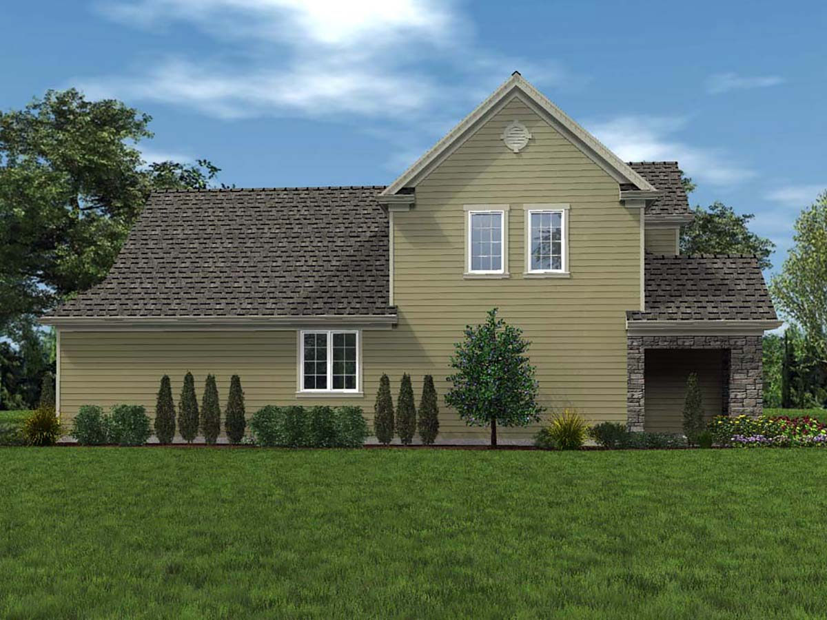 Traditional House Plan 81254 with 3 Beds, 3 Baths, 2 Car Garage Picture 2