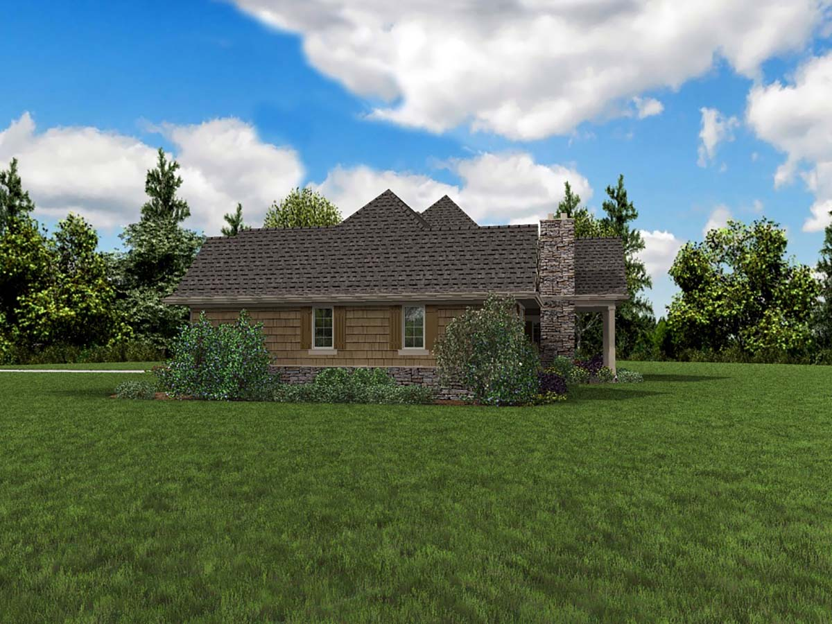 Bungalow, Craftsman, Tuscan House Plan 81272 with 4 Beds, 4 Baths, 2 Car Garage Picture 1